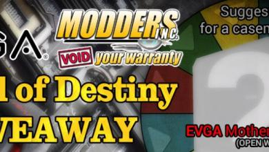 Photo of Winners and theme picked for the Wheel of Destiny Case Mods #1 Giveaway
