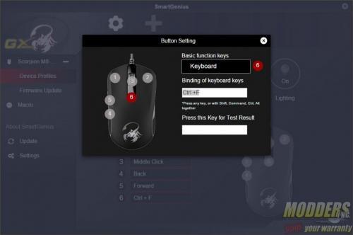 Genius GX Gaming Scorpion M8-610 SmartGenius Software