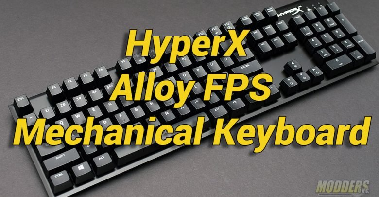 Photo of HyperX Alloy FPS Mechanical Gaming Keyboard Review