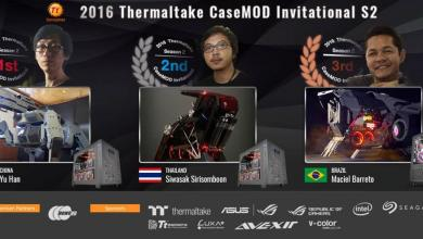 2016 Thermaltake CaseMOD Invitational Season 2 Winners Announced