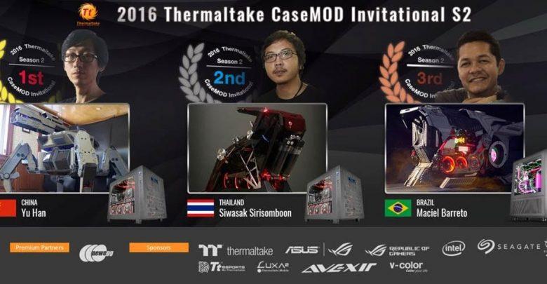 Photo of 2016 Thermaltake CaseMOD Invitational Season 2 Winners Announced