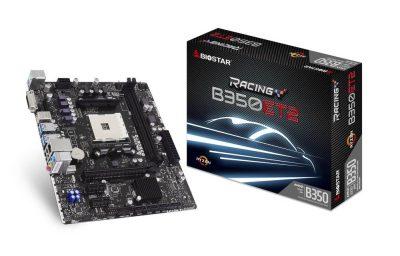 Biostar Introduces Two Affordable AM4 B350 Micro-ATX Motherboards b350et2, b350gt3, biostar, micro atx