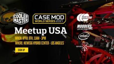 Photo of Cooler Master Case Mod World Series USA Meet-up