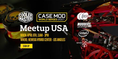 Case Mod World Series USA Meet-up, Cooler Master, Newegg, NVIDIA, Modder's Inc