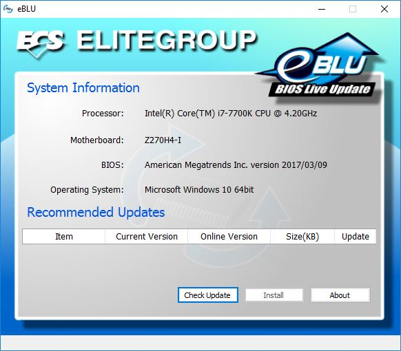 ECS Durathon 2 Z270H4-I Motherboard Review ECS, Motherboard, z270 3