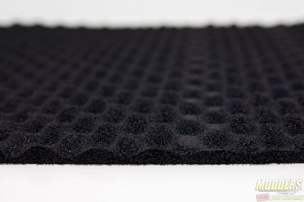 Silverstone SST-SF02 Noise Absorbing Foam Review foam, noise dampening, padding 2
