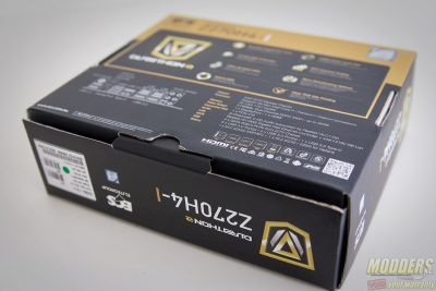 ECS Durathon 2 Z270H4-I Motherboard Review