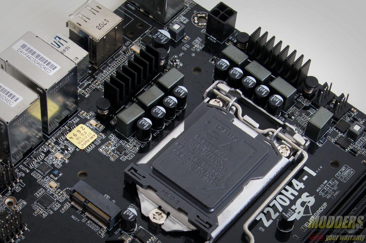 ECS Durathon 2 Z270H4-I Motherboard Review