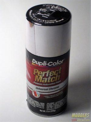 Dupli-Color Perfect Match Universal Chrome Review chrome, Dupli-Color, paint, Refelctive, silver, Spray Paint, Universal Chrome 1