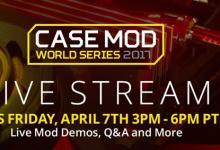 Newegg live stream modding