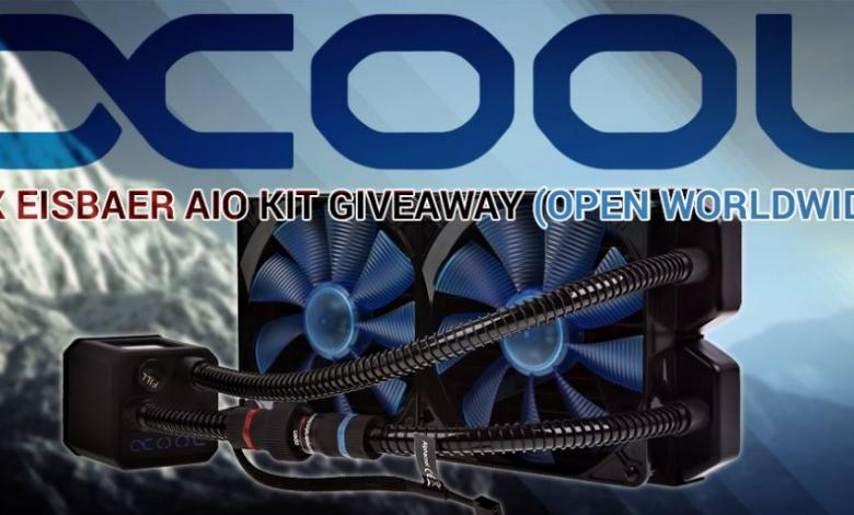 Photo of Alphacool Eisbaer All-In-One Water Cooling Giveaway – April 2017