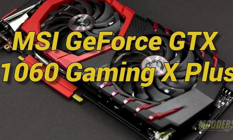 Photo of MSI GeForce GTX 1060 GAMING X PLUS Review