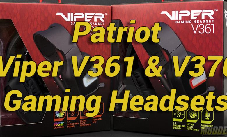Photo of Patriot Viper V361 & V370 Gaming Headsets Review