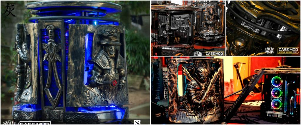 Winners of the Cooler Master Case Mod World Series 2017 case mod contest, casemod world series, Cooler Master 8