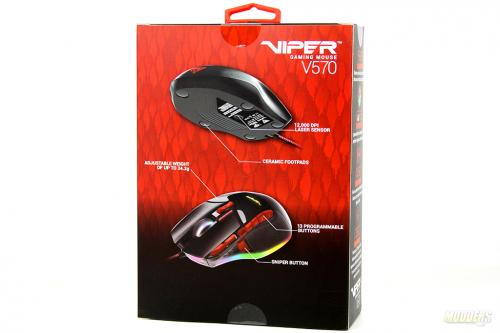 Patriot Viper V570 RBG Laser Gaming Mouse Review: Red, Green and Blue Avago, Gaming Mouse, Macroblock Inc, Microcontroller, Omron, Patriot, sonix, ttc, V570, viper 3