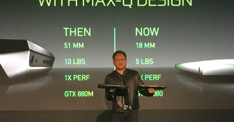 Photo of NVIDIA Announces Max-Q Gaming Standard of Laptop Design @ Computex 2017