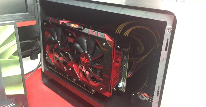 PowerColor Shows Off Gaming Box External GPU Enclosure @ Computex 2017