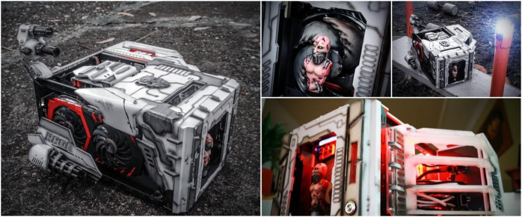 Winners of the Cooler Master Case Mod World Series 2017 case mod contest, casemod world series, Cooler Master 2