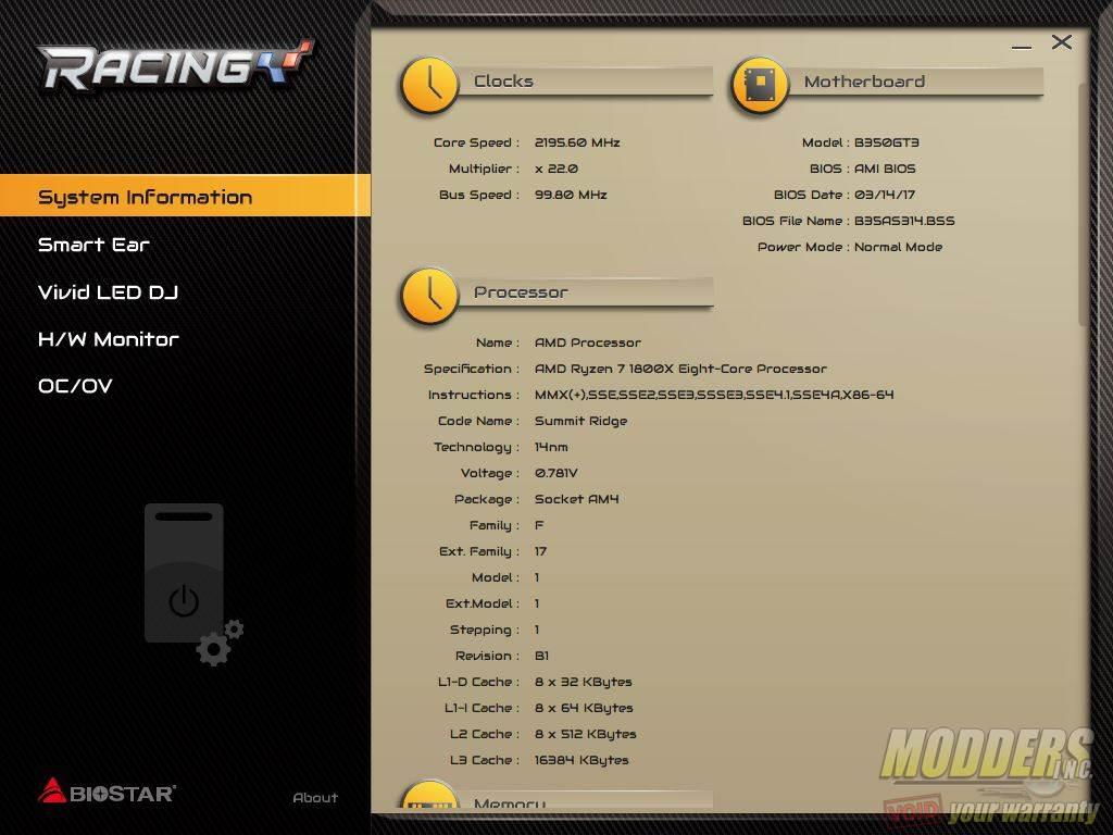 Biostar Racing B350GT3 AM4 Motherboard Review AMD, biostar, Motherboard, Racing 4