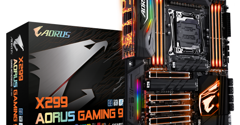 Photo of GIGABYTE Unveils AORUS X299 Motherboard Line @ Computex 2017
