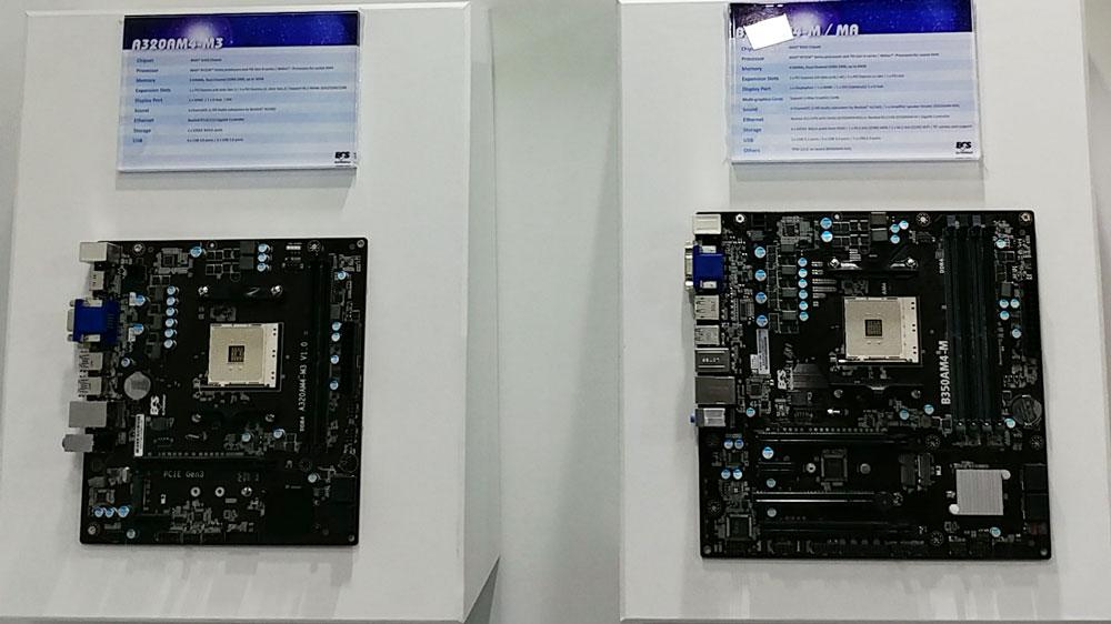 ECS Shows Off New AM4 Motherboards and Mini-PCs @ Computex 2017 ECS, Motherboard 1