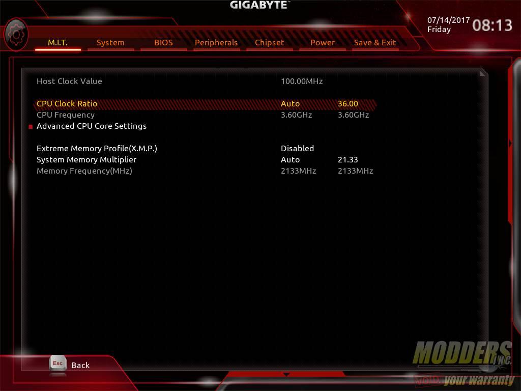 Gigabyte AB350N-Gaming WIFI AM4 Motherboard Review B350, Gigabyte, Mini-ITX 17