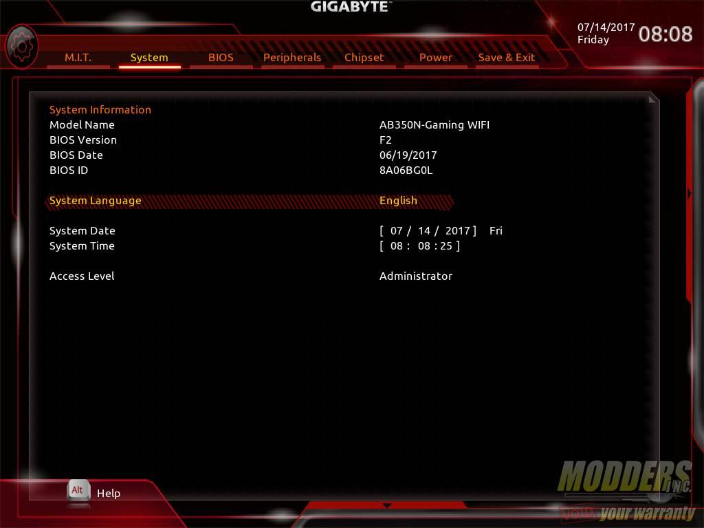 Gigabyte AB350N-Gaming WIFI AM4 Motherboard Review B350, Gigabyte, Mini-ITX 15