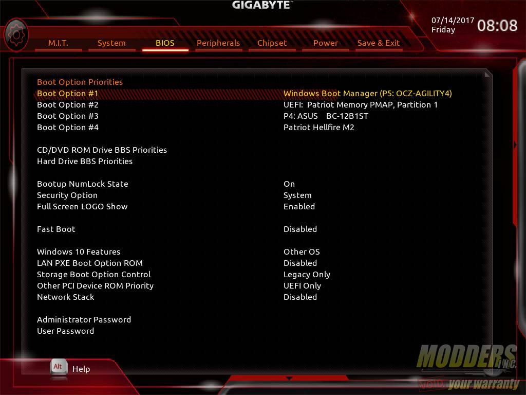Gigabyte AB350N-Gaming WIFI AM4 Motherboard Review B350, Gigabyte, Mini-ITX 20