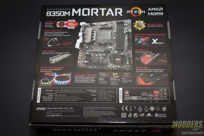 MSI B350M Mortar Motherboard
