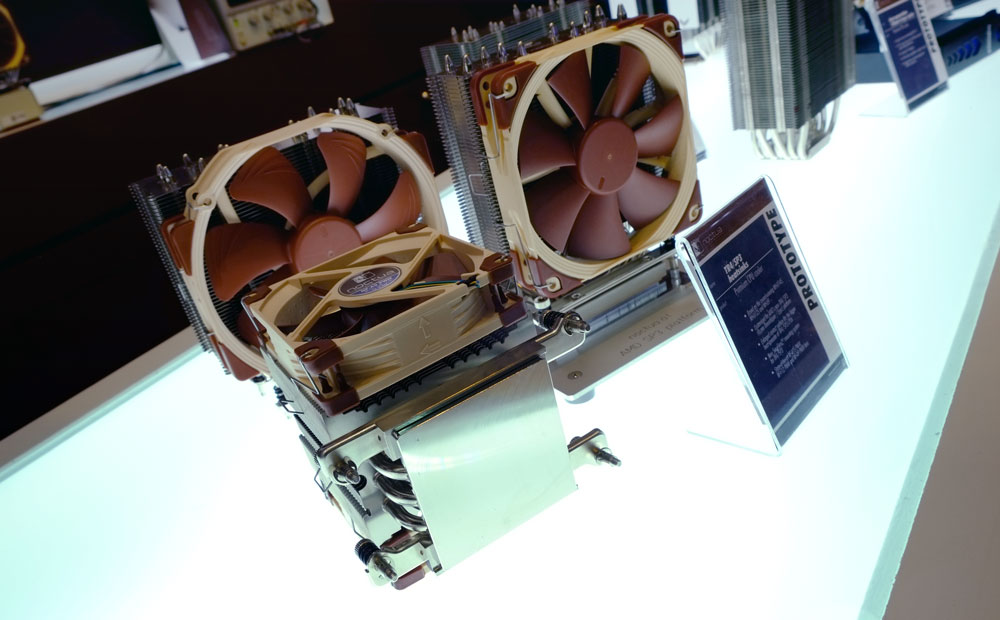 New Noctua Threadripper Heatsinks and 5V Fans @ Computex 2017