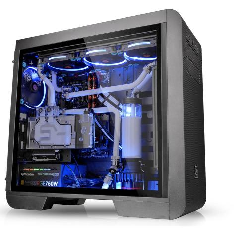 Thermaltake Updates Core V71, V51 and Suppressor F51 with Tempered Glass Chassis, tempered glass, Thermaltake 2