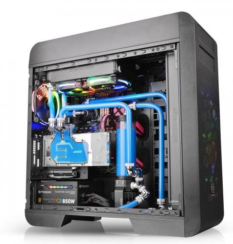 Thermaltake Updates Core V71, V51 and Suppressor F51 with Tempered Glass Chassis, tempered glass, Thermaltake 3