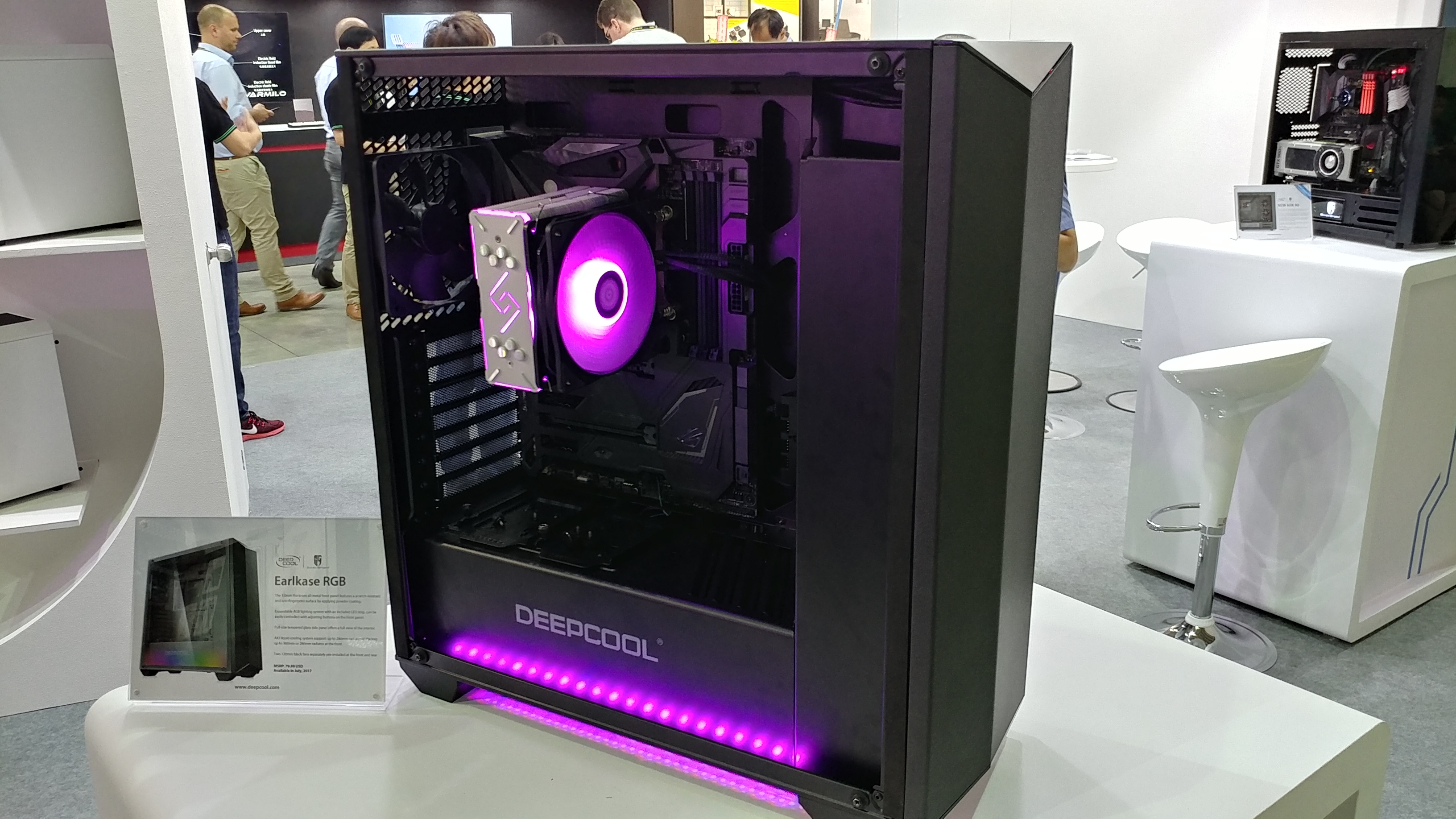 Deepcool Expands Chassis Lineup @ Computex 2017
