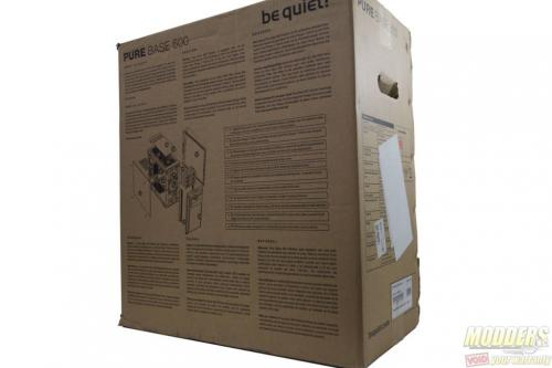 be quiet! Pure Base 600 Case Review ATX, be quiet!, Case, Chassis, Mid Tower, tempered glass 3
