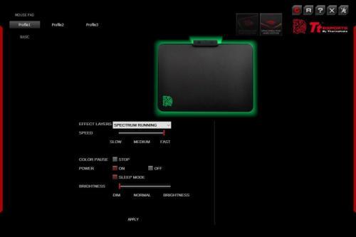 Tt eSPORTS Draconem RGB Gaming Mousepad Review MousePad, rgb led, Tt eSports 7