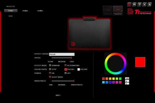 Tt eSPORTS Draconem RGB Gaming Mousepad Review MousePad, rgb led, Tt eSports 8