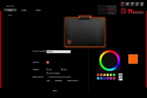 Tt eSPORTS Draconem RGB Gaming Mousepad Review MousePad, rgb led, Tt eSports 10