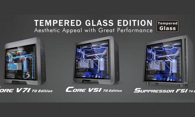 Photo of Thermaltake Updates Core V71, V51 and Suppressor F51 with Tempered Glass