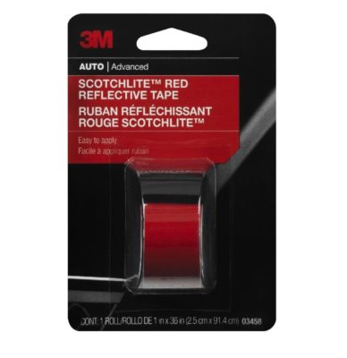 3M Red Reflective Tape Review 3m reflective tape 03458