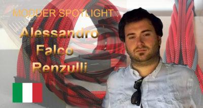 Modder Spotlight: Alessandro Falco Renzulli Braided Cables, international, italy, modder spotlight, new modder, sleeving 1