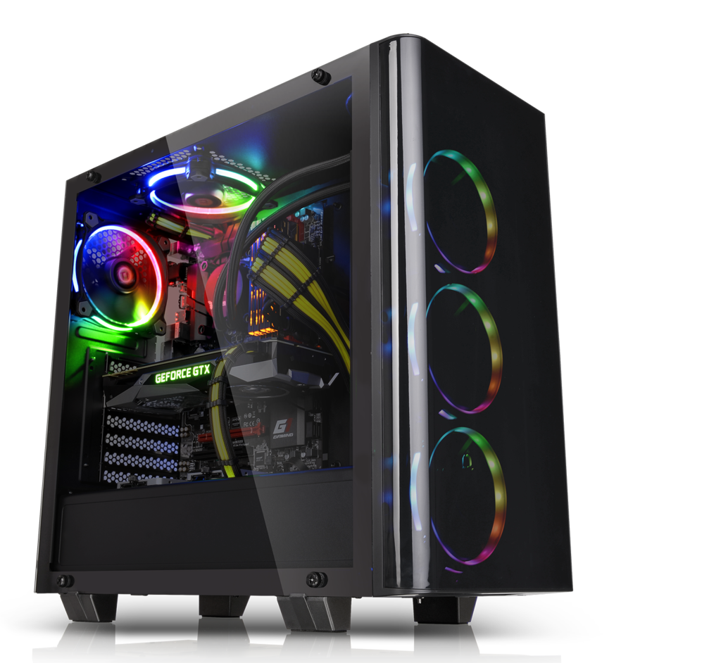 Thermaltake Expands Tempered Glass Line with View 21 Case, Mid Tower, New View 21, tempered glass, Thermaltake 2