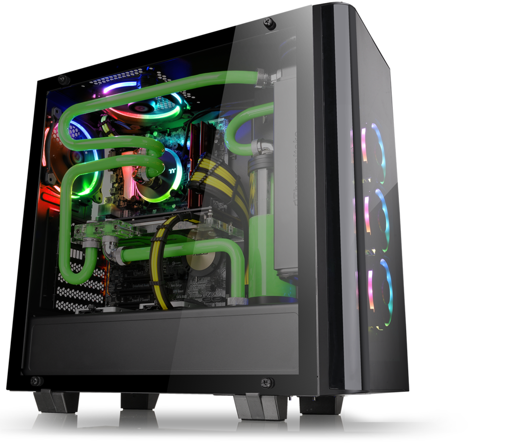 Thermaltake Expands Tempered Glass Line with View 21 Case, Mid Tower, New View 21, tempered glass, Thermaltake 3