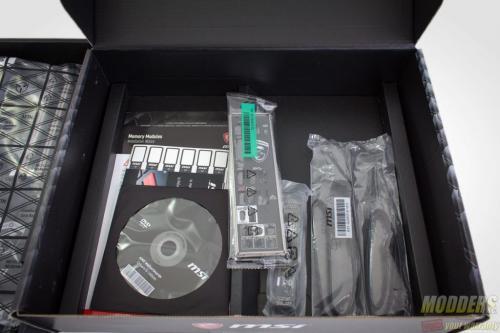 MSI X370 Krait Gaming AM4 Motherboard Packaging