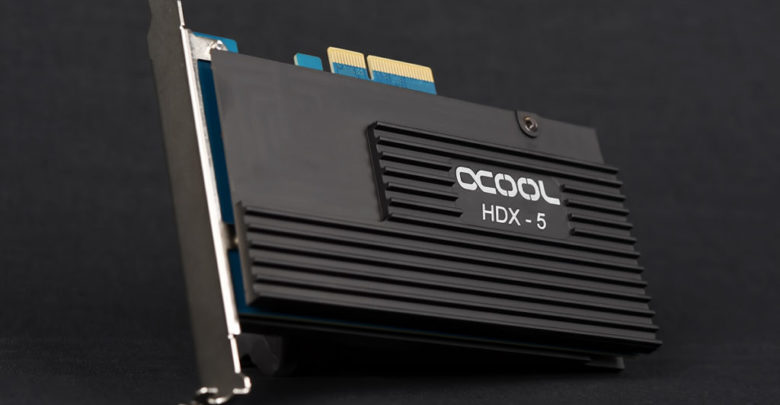 Photo of Alphacool Announces HDX-5 PCIe M.2 Passive Cooler