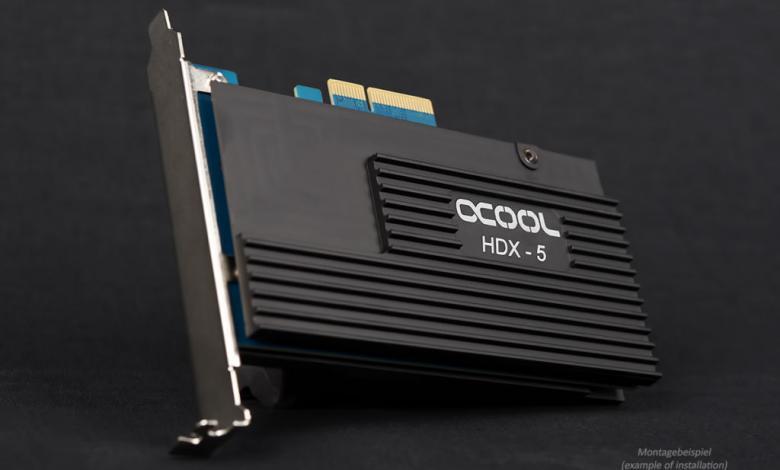 Photo of Alphacool Announces HDX-5 PCIe M.2 Passive Cooler
