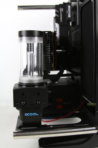 Water Cooling Your PC: Making of an Eye Candy Part 3: Radiator, Pump and Fans Installation IMG 0147