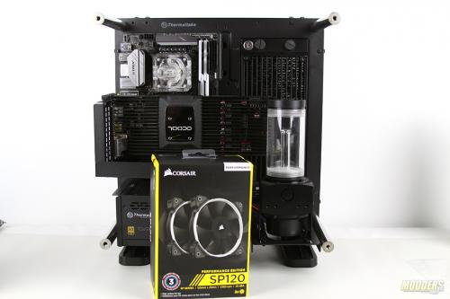 Water Cooling Your PC: Making of an Eye Candy Part 3: Radiator, Pump and Fans Installation IMG 0149