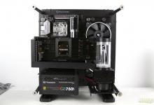 Water Cooling Your PC: Making of an Eye Candy Part 3: Radiator, Pump and Fans Installation AlphaCool, Core P1, Corsair, Eisbecher D5, EK CoolStream SE240 21