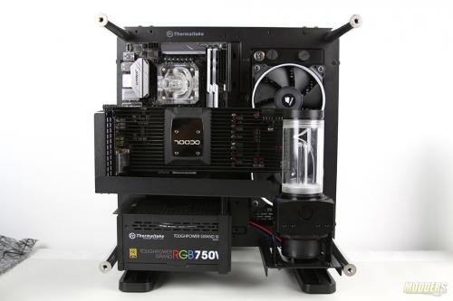 Water Cooling Your PC: Making of an Eye Candy Part 3: Radiator, Pump and Fans Installation IMG 0158