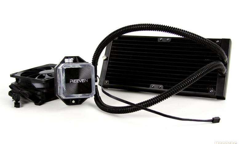 Photo of Reeven Naia 240 AIO Cooler Review